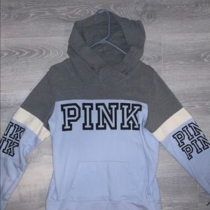 Pink Victoria's Secret brand hoodie